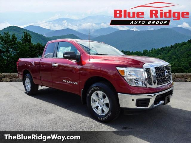 New 2018 nissan titan 4x4 king cab sv extended cab pickup in