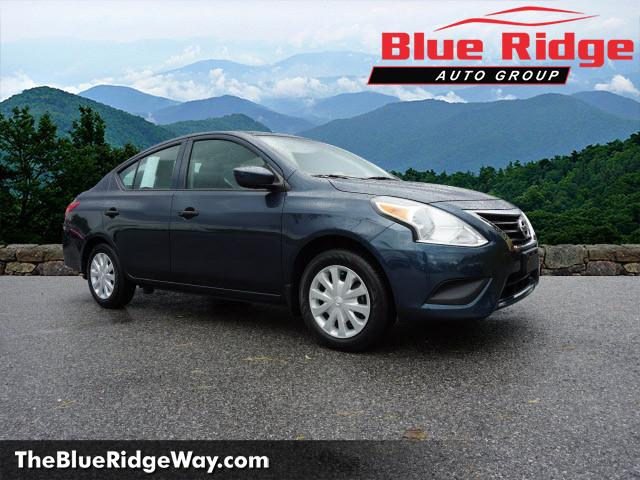 Certified Pre-Owned 2017 Nissan Versa S Plus CVT