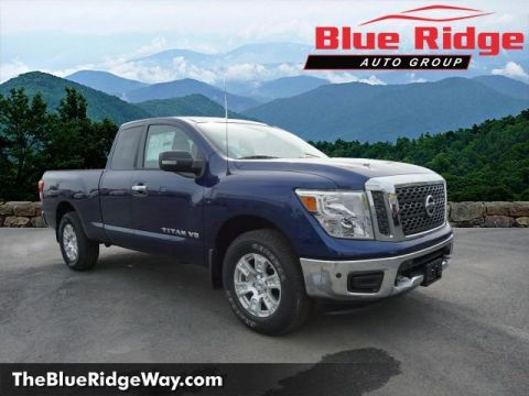New 2018 Nissan Titan 4x4 King Cab SV With Navigation & 4WD