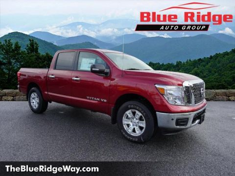 New 2018 Nissan Titan 4x4 Crew Cab SV With Navigation & 4WD